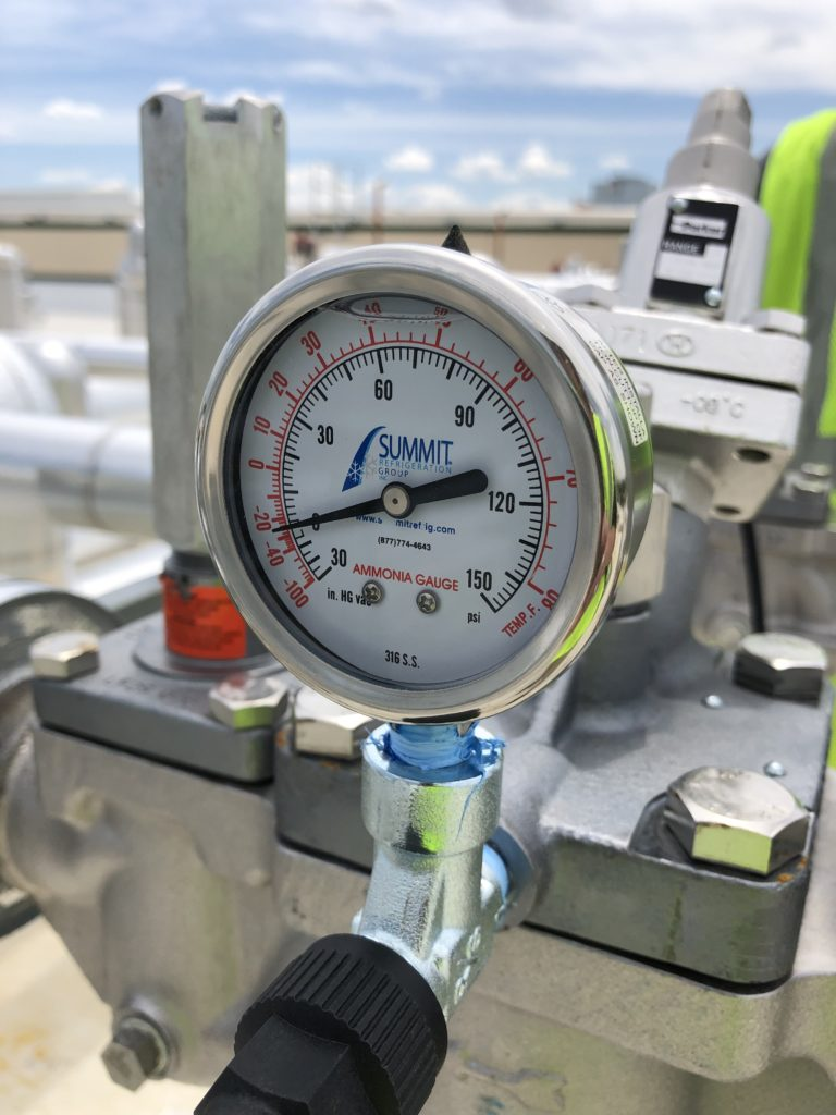 Summit Refrigeration Group Ammonia Gauge