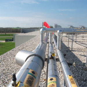 Summit Refrigeration Group_Rooftop Ammonia Piping