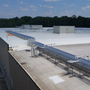 Summit Refrigeration Group_Construction Roof Piping