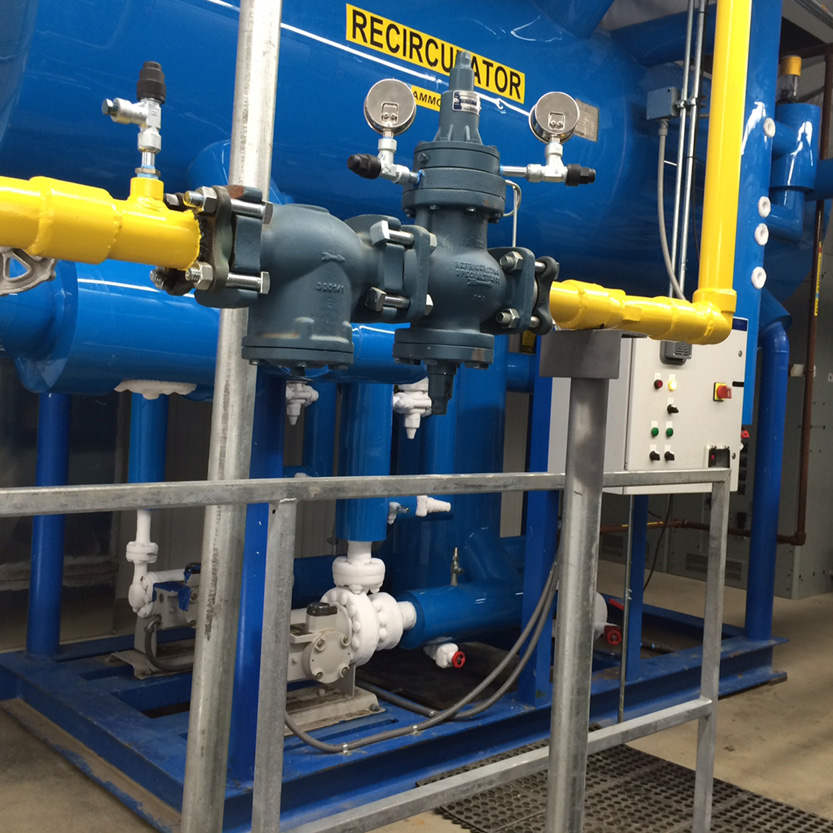 New Central Ammonia System_Ice Supplier_Morgantown, WV_FP
