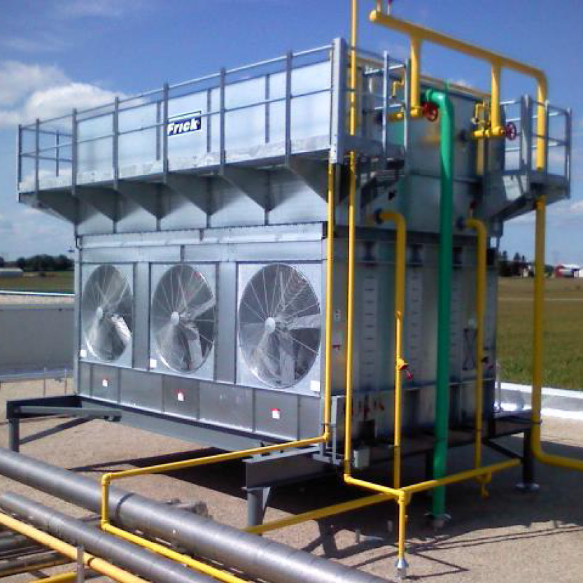 New-Condenser-Unit_Dairy-Foods-Processing-Facility_West-Bend-WI