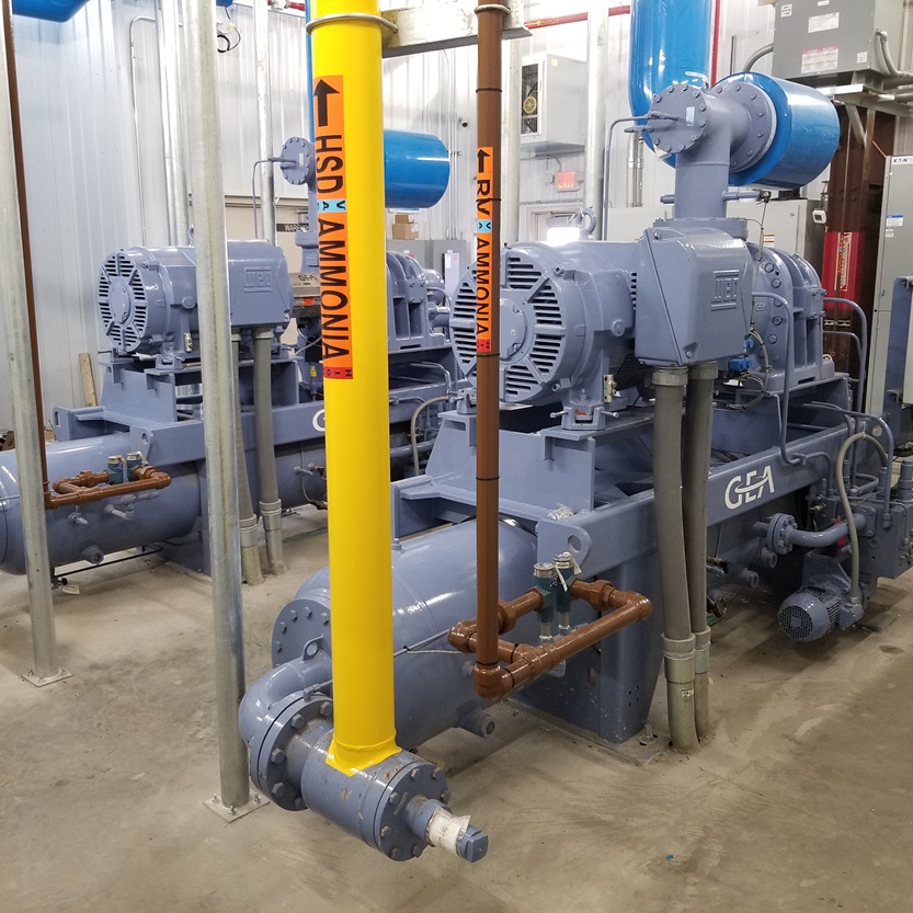 Ammonia Piping and Ice Plant_Ice Supplier_South Elgin, IL_FP